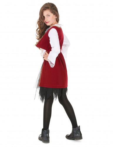 Costume da piratessa in velluto per bambina-2