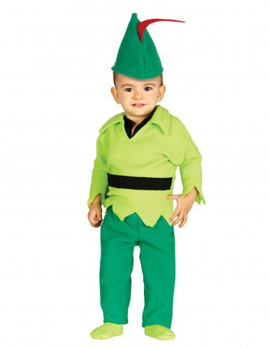 Costume da fanciullo verde dei boschi per neonato