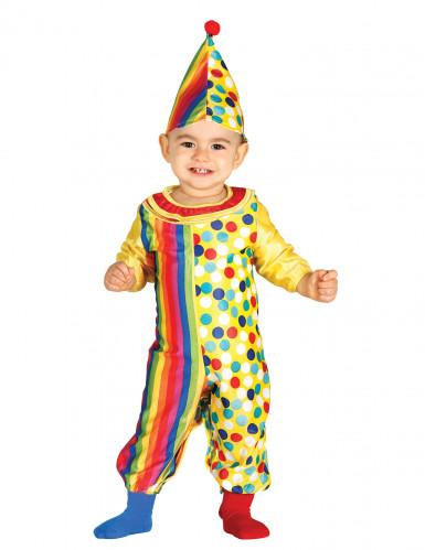 Costume tuta clown bebè