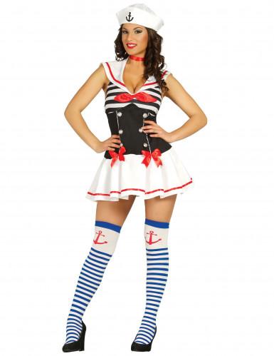 Costume marinaia voluttuosa per donna