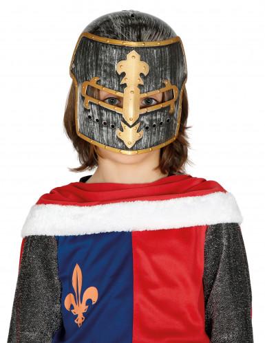 Elmo da cavaliere medievale bambino