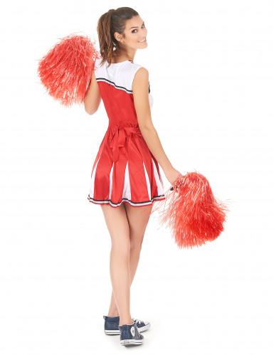 Costume ragazza pompon USA donna-2