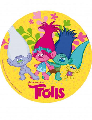 Disco di zucchero Trolls™ 20 cm