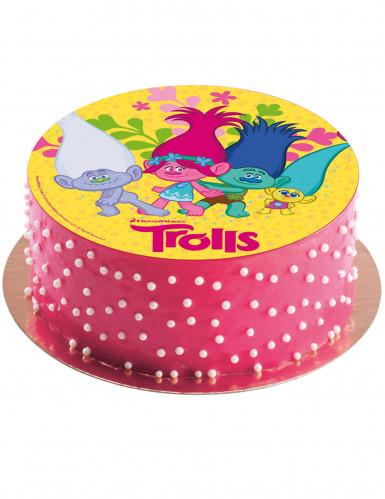 Disco di zucchero Trolls™ 20 cm-1