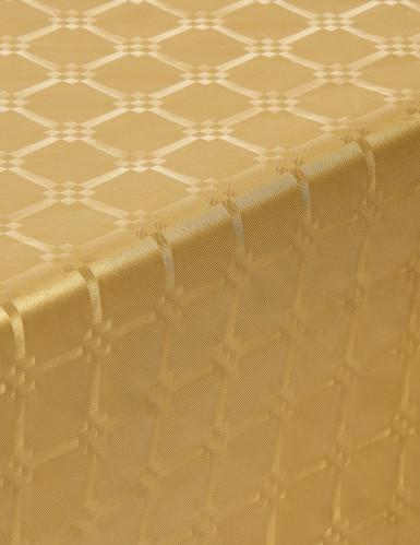 Rotolo di tovaglia in carta oro 6 metri-1