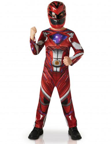 Costume Power Rangers™ Rosso il Film bambino