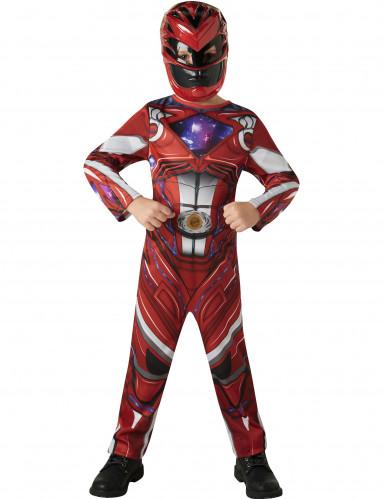 Costume Power Rangers™ Rosso il Film bambino-1