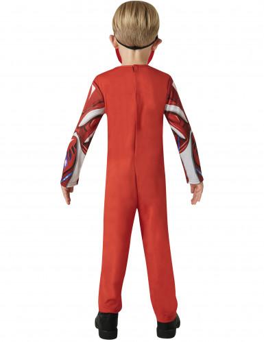 Costume Power Rangers™ Rosso il Film bambino-2