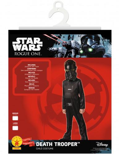 Costume classico Death trooper™ da bambino - Star Wars Rogue one™-1