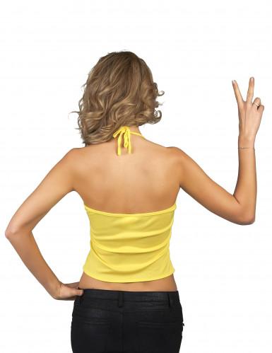 Top mostriciattolo giallo per donna-1