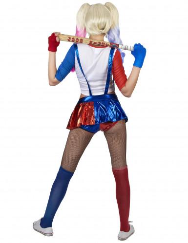 Costume da giullare diabolico donna-2