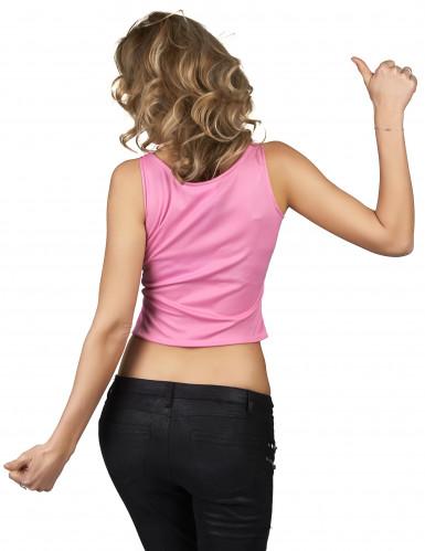 Top mostriciattolo rosa per donna-1