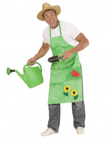 Grembiule verde da giardiniere per adulto