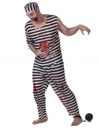 Costume prigioniero zombie uomo-1