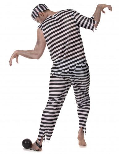 Costume prigioniero zombie uomo-2