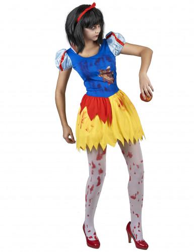 Costume principessa avvelenata e insanguinata donna-1