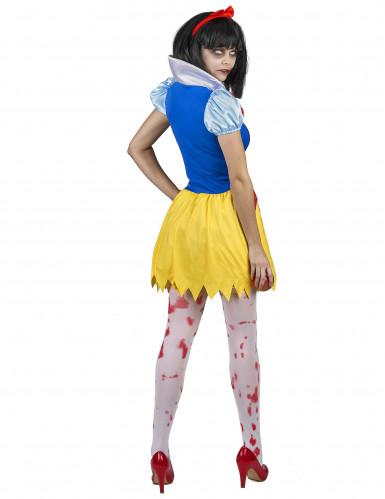 Costume principessa avvelenata e insanguinata donna-2