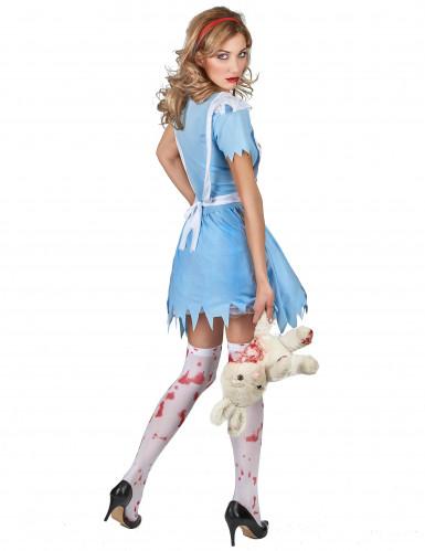 Costume da Alice insanguinata per donna-2