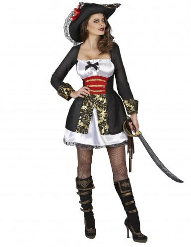 Costume da pirata corsaro sexy per donna-1