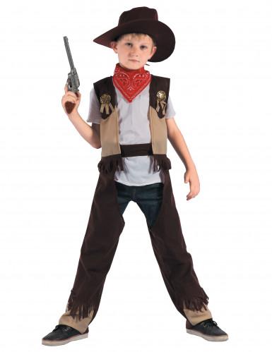 Costume da Cowboy rodeo bambino