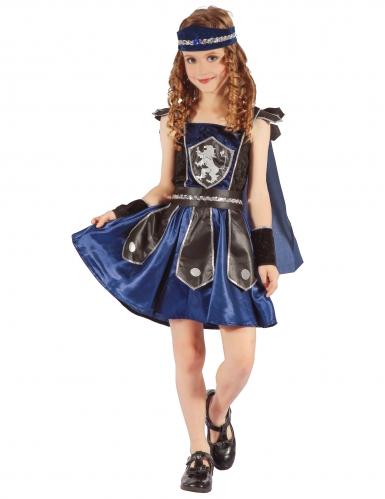 Costume da bambina cavaliere reale