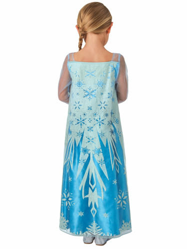 Costume classico Elsa Frozen - Il regno di Ghiaccio ™-1