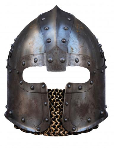 Maschera di cartone casco Normanno