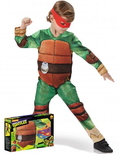 Costume tartaruga ninja per bambino con cofanetto