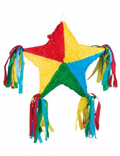 Pignatta stella multicolore