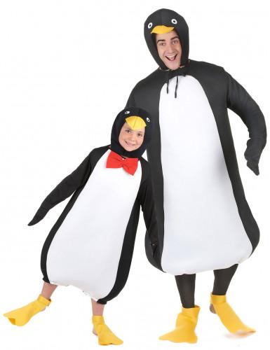 Costume di coppia da pinguino - padre e figlio