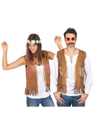 Costume di coppia Hippie - gilet