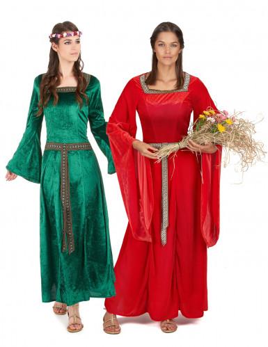 Costume coppia medievale donna