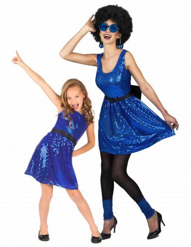 Costume di coppia disco madre e figlia