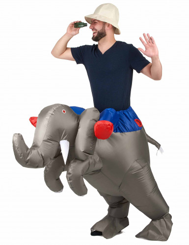 Costume elefante gonfiabile adulto