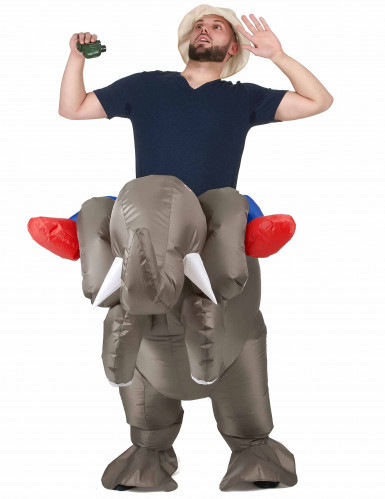 Costume elefante gonfiabile adulto-1