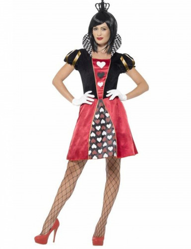 Costume miss regina di carte donna