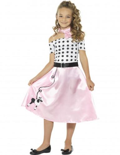 Costume Miss Girly Anni'50 per bambina