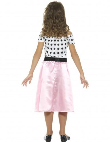 Costume Miss Girly Anni'50 per bambina-1