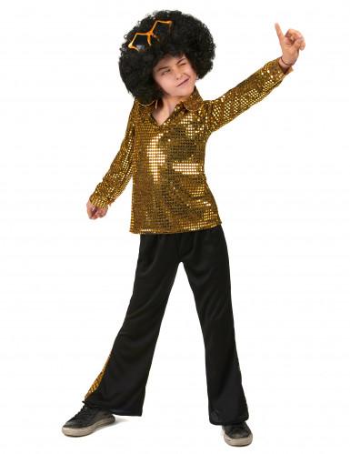 Costume disco oro per bambino