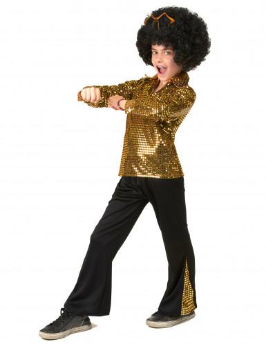 Costume disco oro per bambino-1