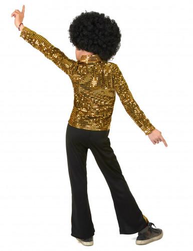 Costume disco oro per bambino-2