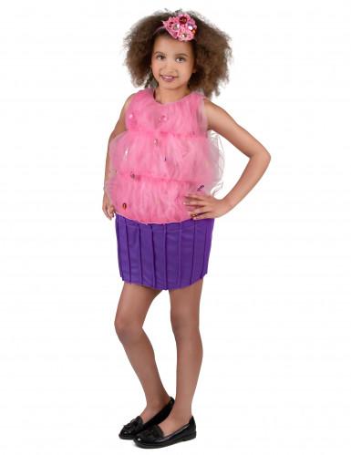 Costume cupcake rosa bambina-1