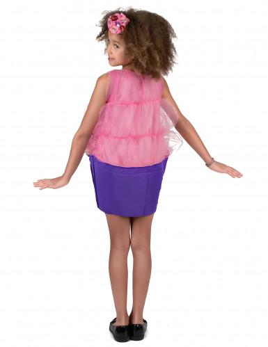 Costume cupcake rosa bambina-2