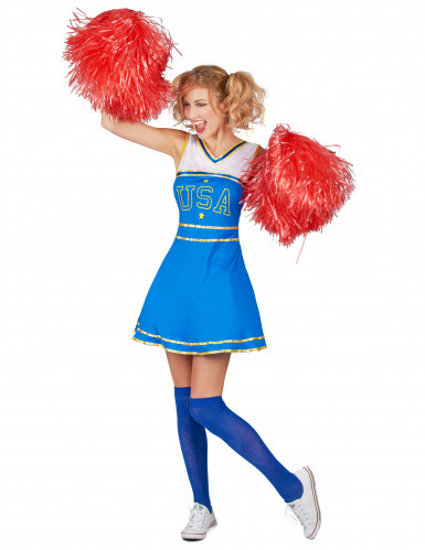 Costume cheerleader USA donna-1