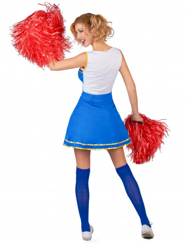 Costume cheerleader USA donna-2