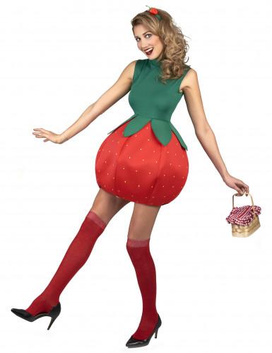 Costume da fragola per donna-1