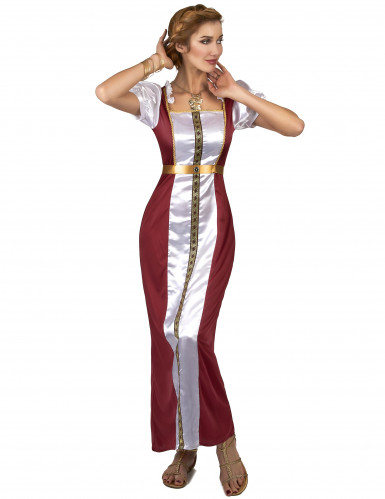 Costume da dama medievale Ginevra per donna