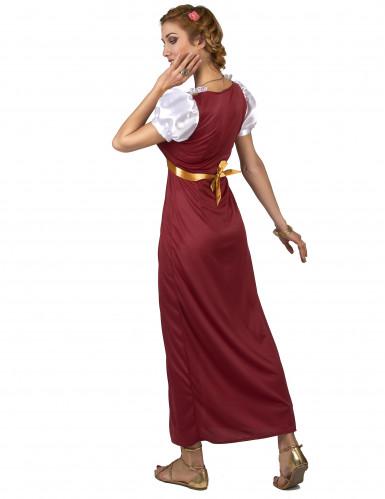 Costume da dama medievale Ginevra per donna-2