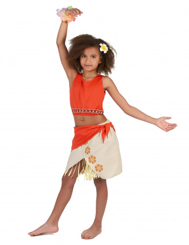 Costume hawaii corallo per bambina-1