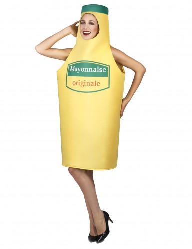 Costume da maionese per adulto-2